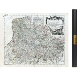 Carte de la Picardie de 1753