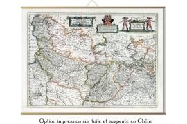 Carte de la Picardie de 1783