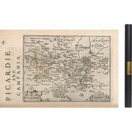Carte de la Picardie de 1540