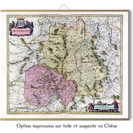 L'Auvergne en 1665