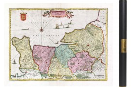 Normandie en 1665