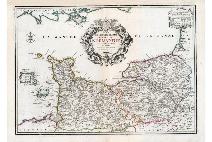 Normandie en 1753