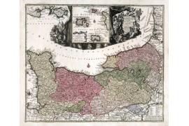 Normandie en 1740