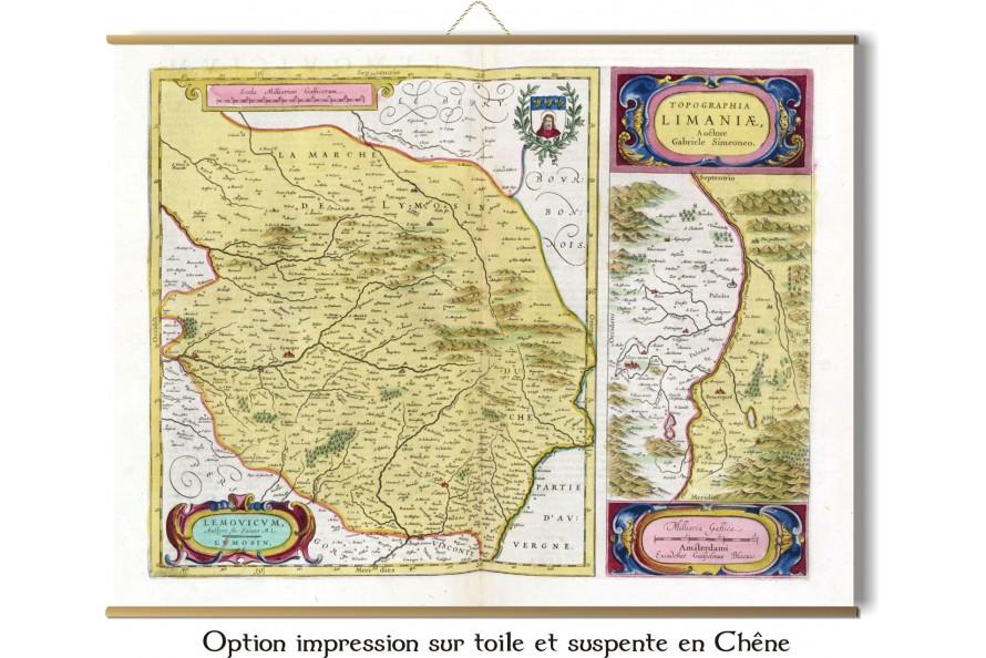 Le Limousin en 1665
