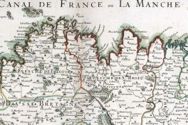 La Bretagne en 1695