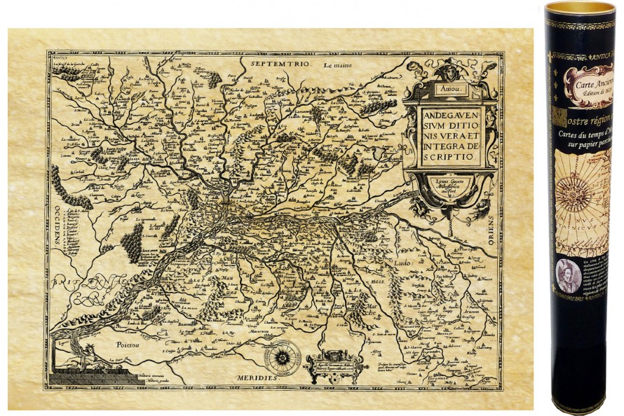Anjou en 1592