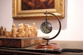 """Support horloge """"l'œil du temps"""" petit modèle"""