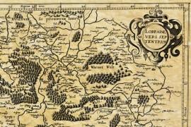 Lorraine Nord en 1593