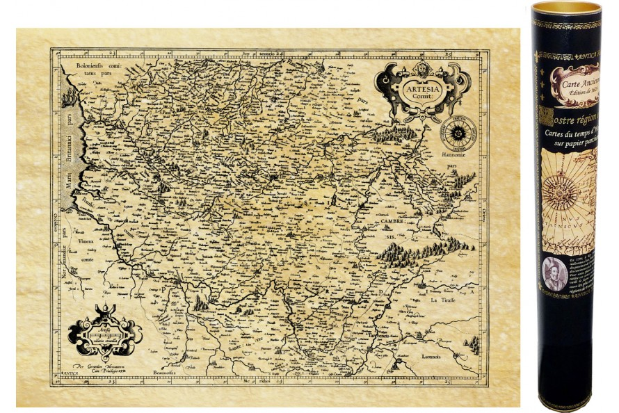 Artois en 1592