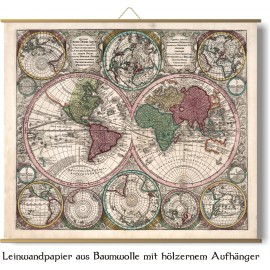 Le monde en 1730