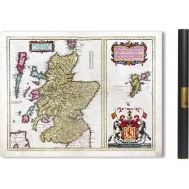Carte ancienne de L'Ecosse en 1629