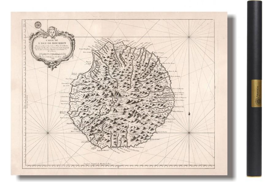 île De La Réunion Ou île De Bourbon 1763