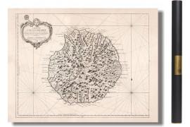 Île de la Réunion ou île de Bourbon - 1763