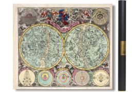 Carte du ciel de 1730