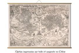 Carte du Monde 1594