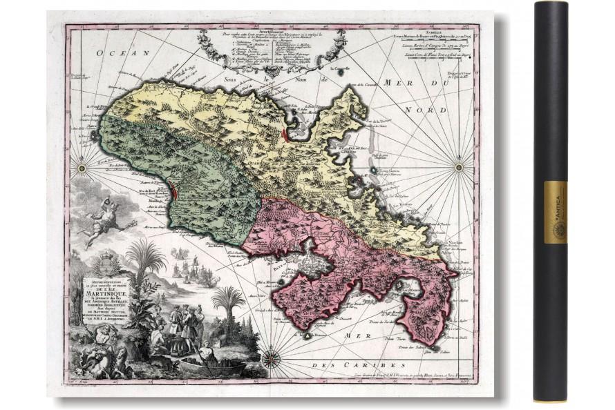 La Martinique en 1750