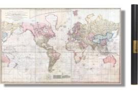 Carte du Monde 1808