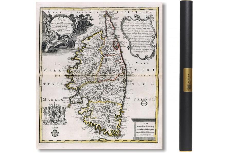 La Corse en 1749