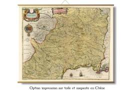 Le Languedoc en 1665