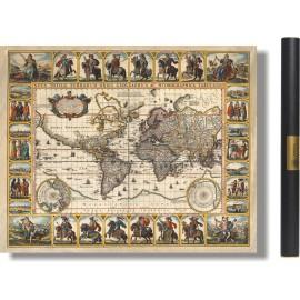 Carte du Monde en 1652