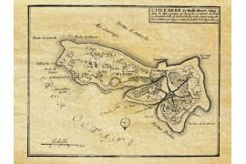 """Île de Ré en 1696 par """"Basse Marée"""""""