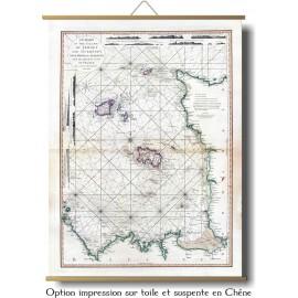 Îles de Jersey,Guernesey, Chausey en 1781