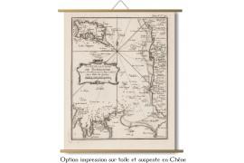 Cote de la Normandie et Bretagne 1750
