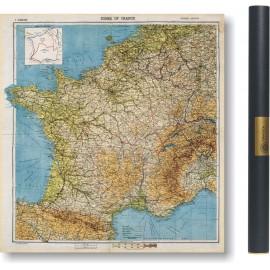 Carte du MI6 de la France en 1944
