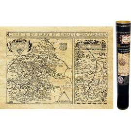 Auvergne et Berry en 1592