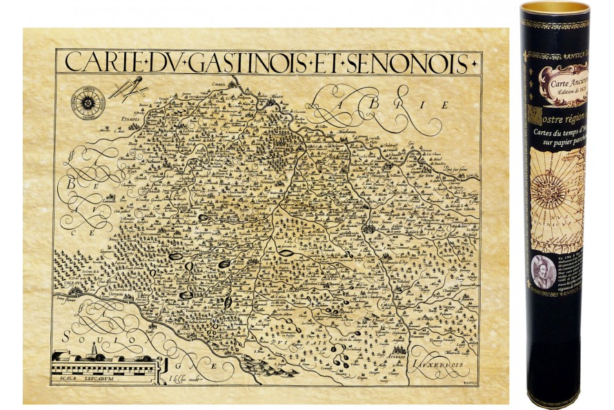 Gatinois en 1616
