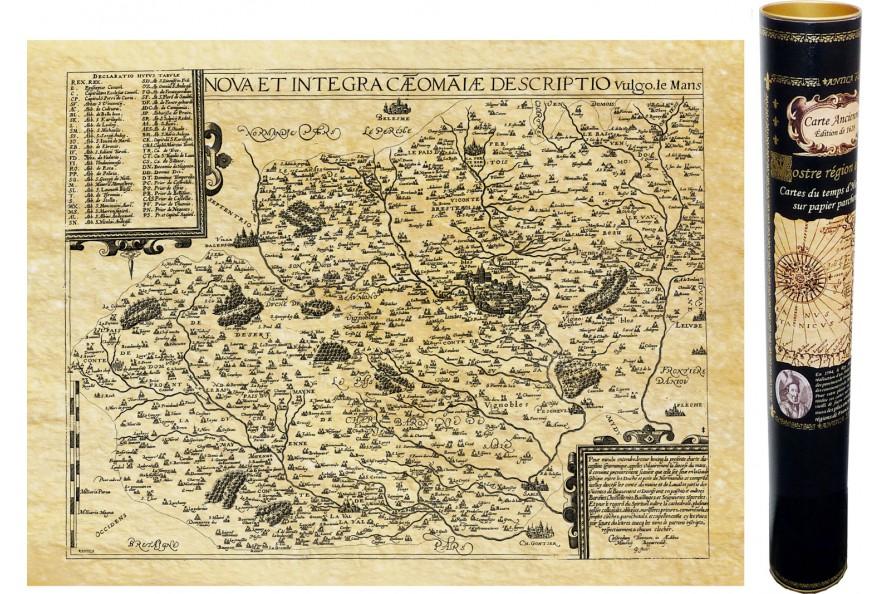 Le Mans en 1592