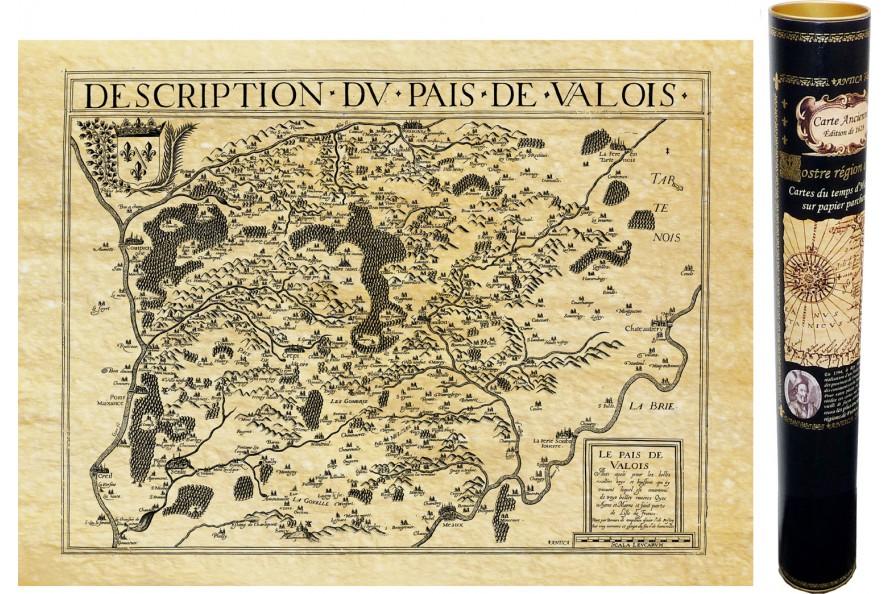 Le Valois en 1617