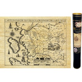 Aunis et la Rochelle en 1621