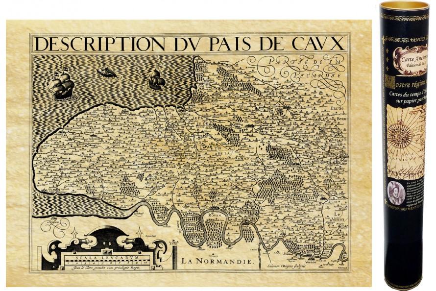Pays de Caux en 1615