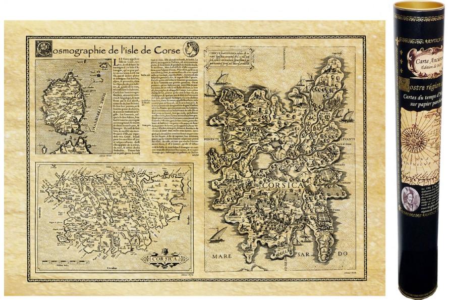 Corse en 1550