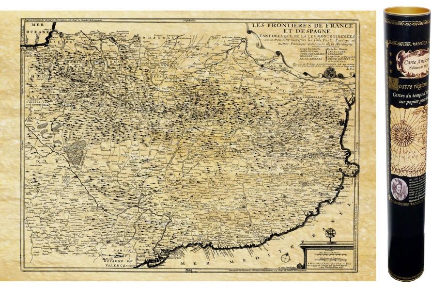 Pyrénées en 1684