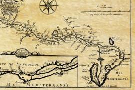 Canal du midi en 1666
