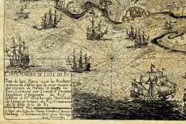 Île de ré en 1592