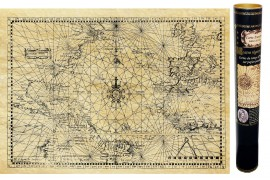 Atlantique Nord en 1550