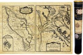 Île d'Oléron Carte de Navigation 1650