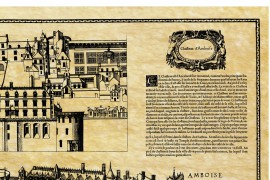 Château d'Amboise en 1576