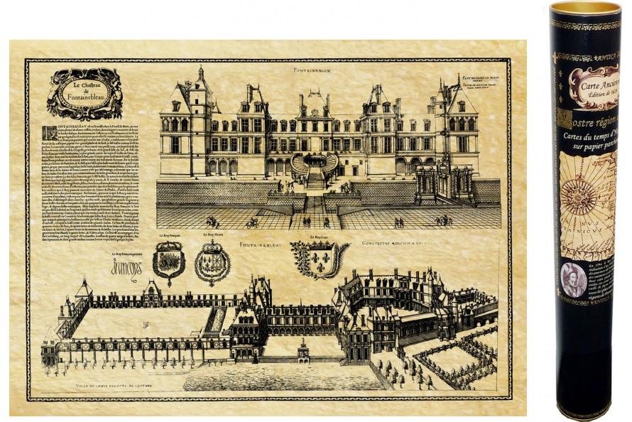 Château de Fontainebleau en 1576