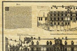 Le Château de Blois en 1576