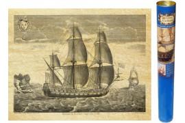 Frégate en 1685
