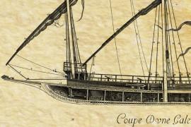 Galère en 1685