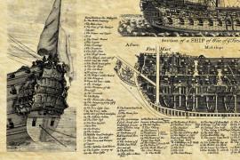 Vaisseau anglais - 1685