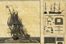Vaisseaux vues - 1685