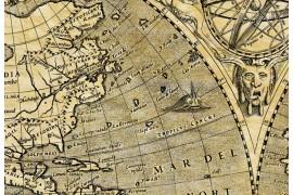 Carte ancienne du monde en 1602