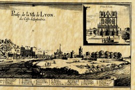 Lyon en 1651