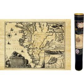 Suède, région de Goteborg en 1645